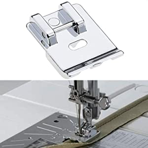 Piping Sewing Machine Presser Foot, Double Welting Presser Foot Fits All Low Shank Snap-On Singer, Brother, Babylock, Euro-Pro, Janome, Kenmore, White, Juki, New Home, Simplicity, Elna and NECCHI