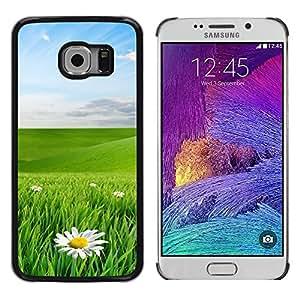 iKiki Tech / Estuche rígido - Green eye protection landscape - Samsung Galaxy S6 EDGE SM-G925