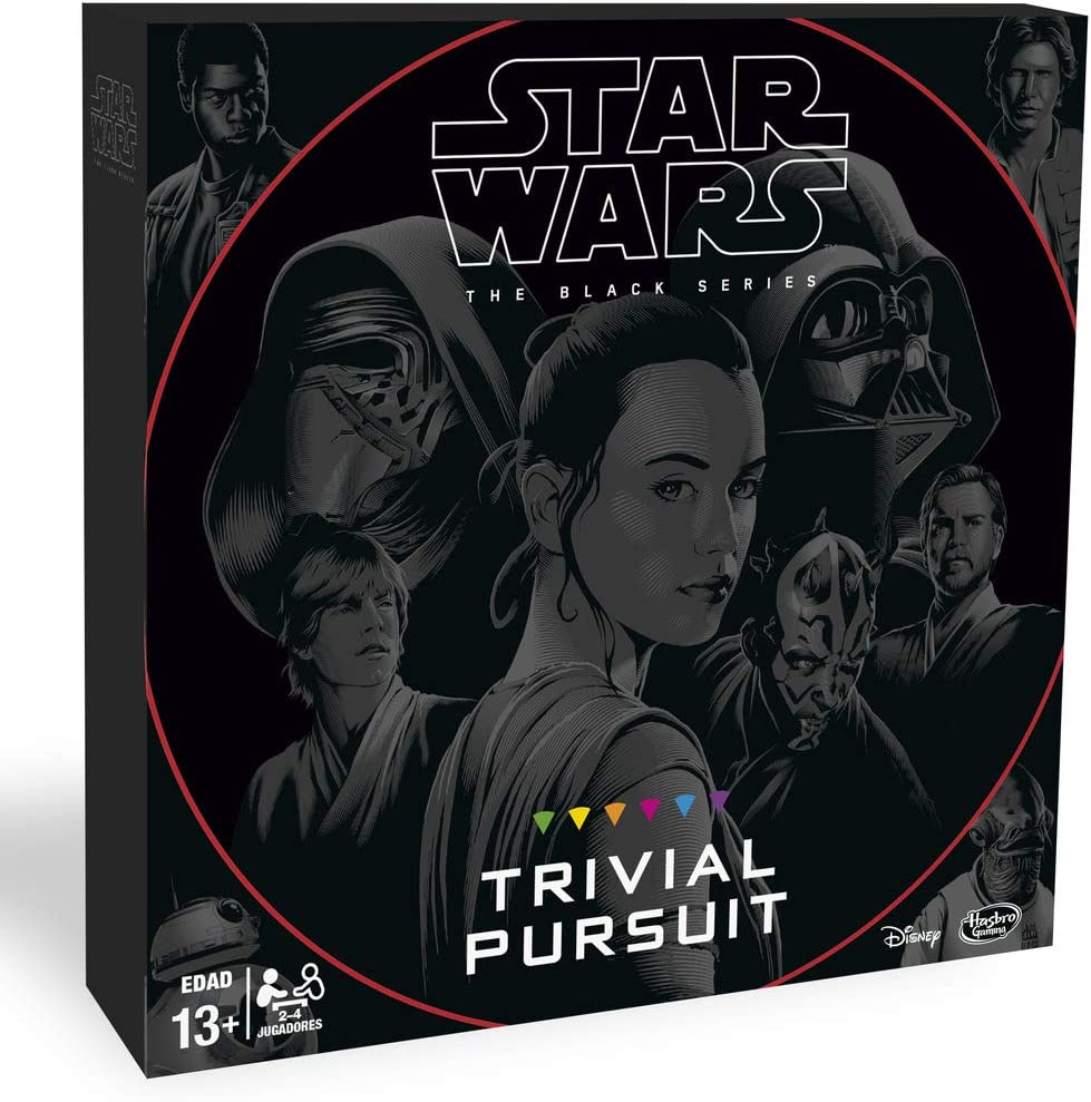 Trivial Pursuit Star Wars (Hasbro B8615105): Amazon.es: Juguetes y ...
