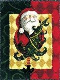 MCG Textiles Santa and Tree Latch Hook Rug Kit