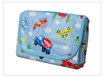Kids Baby Crawling Pad Travel Picnic Creeping Travel Play Mats Activity Carpet