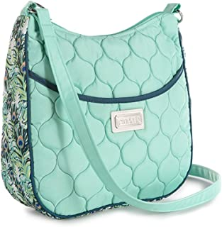 product image for cinda b. Classic Crossbody, Purely Purely Peacock