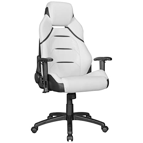 Home Collection24 Silla de Oficina Master Gamer Racing – Silla Respaldo 175 ° Ajustable | giratoria