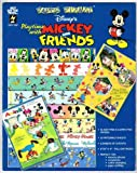 img - for Paper Pizazz: Playtime With Mickey and Friends by LeNae; Goughnour, Becky; Server, Bridgette; Jarvey, Paulette (Ed); Nelson Gerig (1997-07-02) book / textbook / text book
