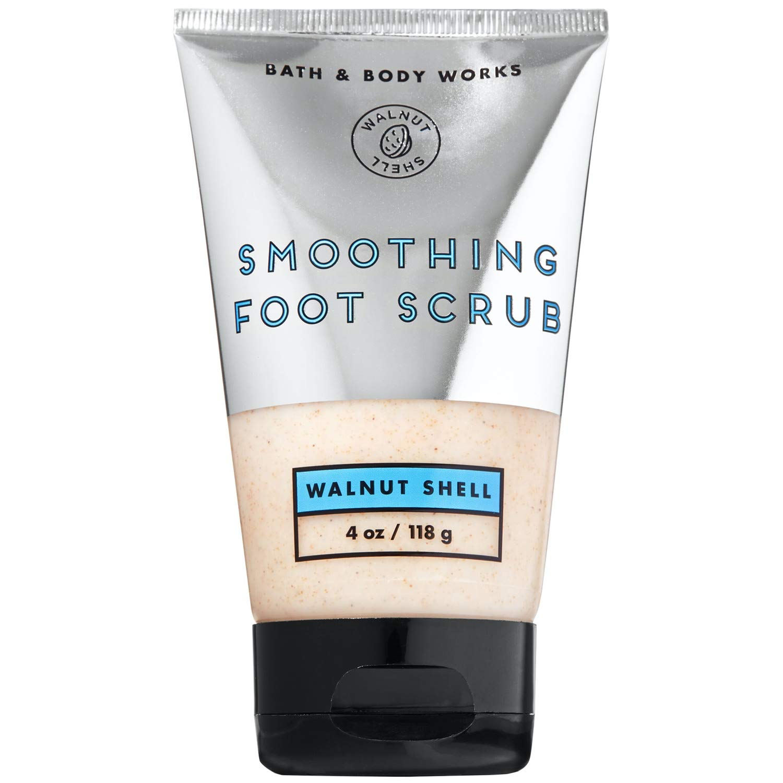 Bath and Body Works WALNUT SHELL Smoothing Foot Scrub 4 Ounce