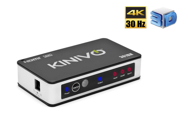 Kinivo Premium High speed HDMI switch with IR wireless: Amazon.co.uk ...