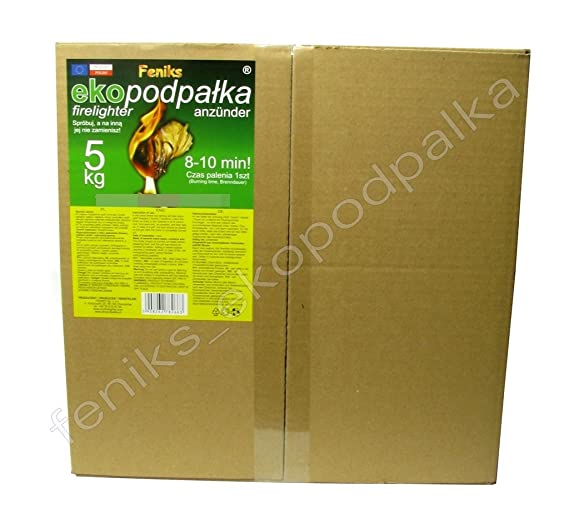 Pastillas - Encendedores de barbacoa Feniks unidades en la caja 500., para chimeneas, estufas, barbacoas y fogatas: Amazon.es: Hogar