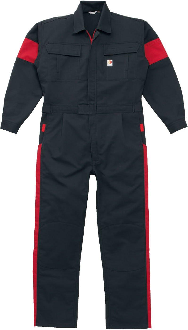 (カンサイユニフォーム) Kansai uniformつなぎ 山本寛斎 カラー つなぎab-KM-207 B008H1UO4Q 3L|グレー