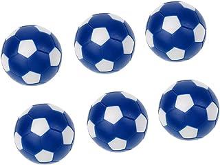 FLAMEER Remplacement De Mini Boules De Soccer De Foosballs De Football De Tableau de 6 X 36mm pour Le Jeu De Tableau