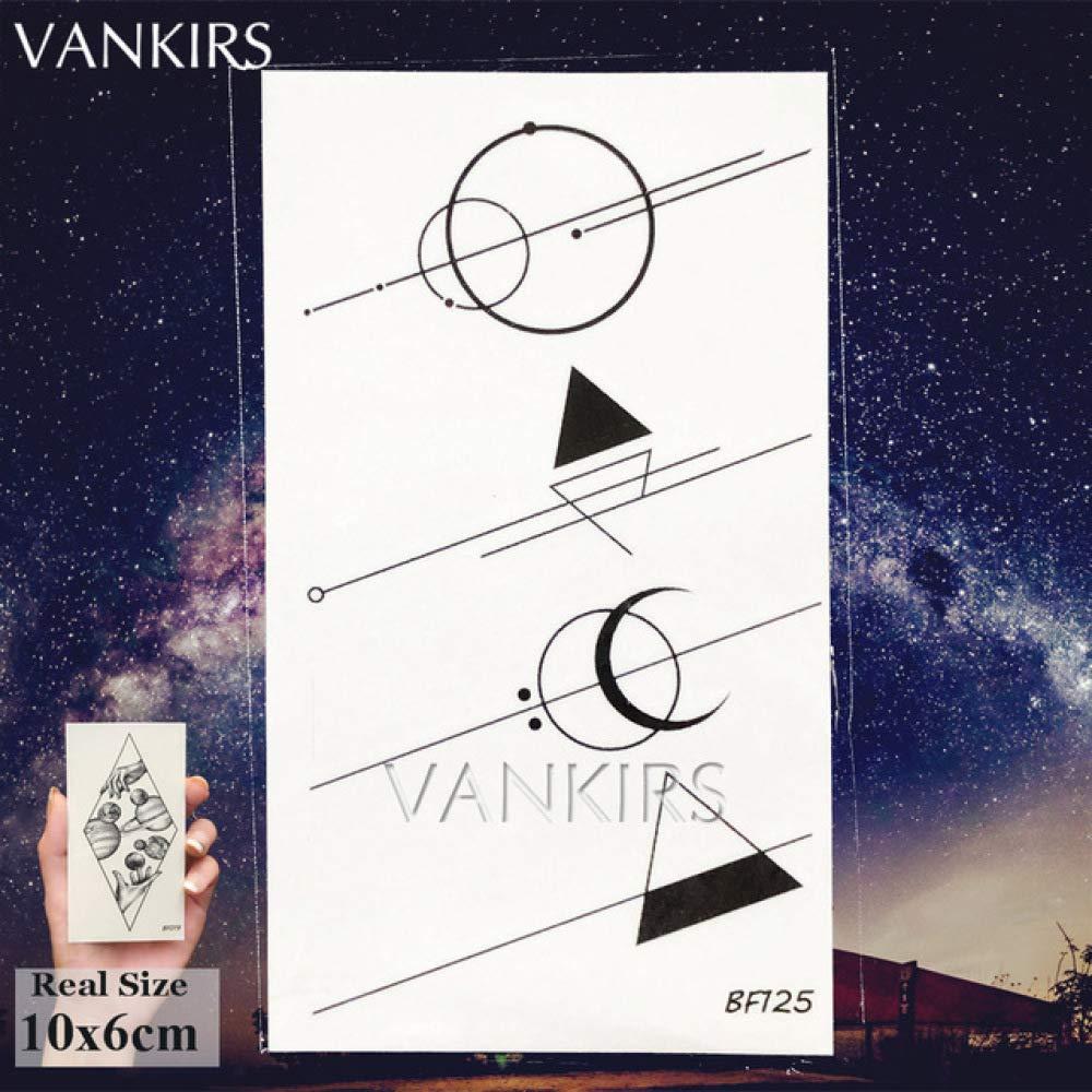 tzxdbh VANKIRS Anchor Viking Birds Fonts Tatuajes a Prueba de Agua ...