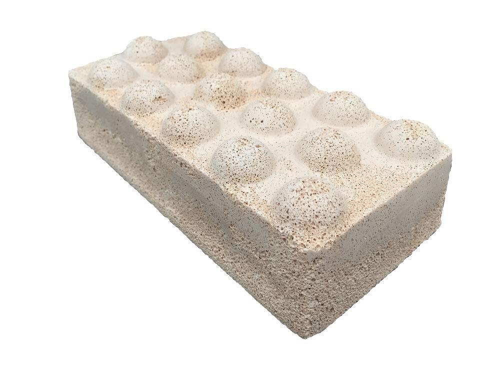 Brightwell Aquatics Xport NO3 Brick, ultra-activated denitrification brick media doped with elemental sulfur, for superior performance characteristics, 1 Brick, 9'' x 4.50'' x 2.50''