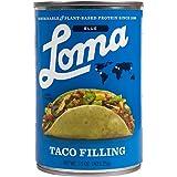 Loma Linda Blue - Plant-Based - Taco Filling (15 oz.) - Non-GMO, Gluten Free, Kosher