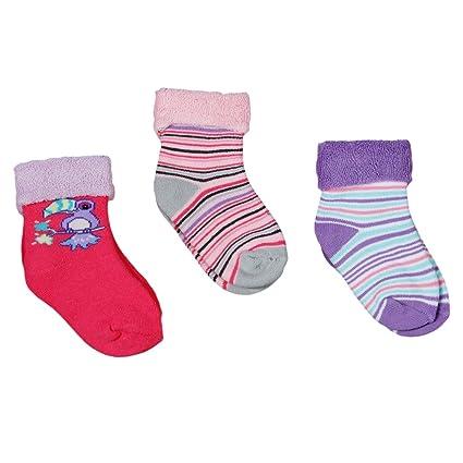 Diseño de calcetín de bebé de calcetines térmicos de tejido de rizo para las niñas 3