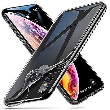 ESR Funda para iPhone XS MAX, Funda para Suave TPU Gel Ultra Fina Protección a