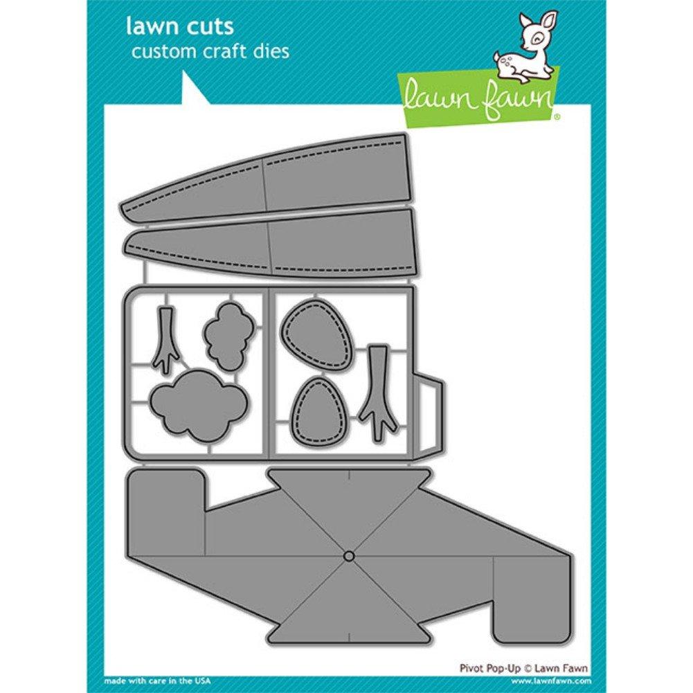Lawn Fawn Lawn Cuts Custom Craft Die LF1611 Pivot Pop-Up
