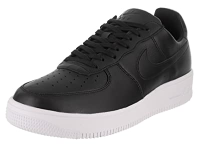 newest 74214 9b73e Nike Men s Air Force 1 Ultraforce Leather Low-Top Sneakers, Black (White)