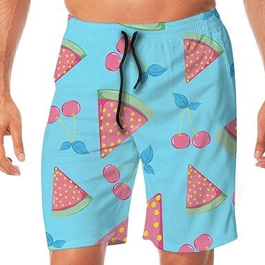 Amazon.com: Pantalones cortos de verano, sandía, cereza ...