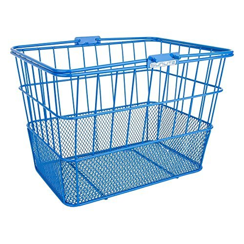SunLite Standard Mesh Bottom Lift off Basket with Bracket Blue [並行輸入品]   B077Q7WHGY