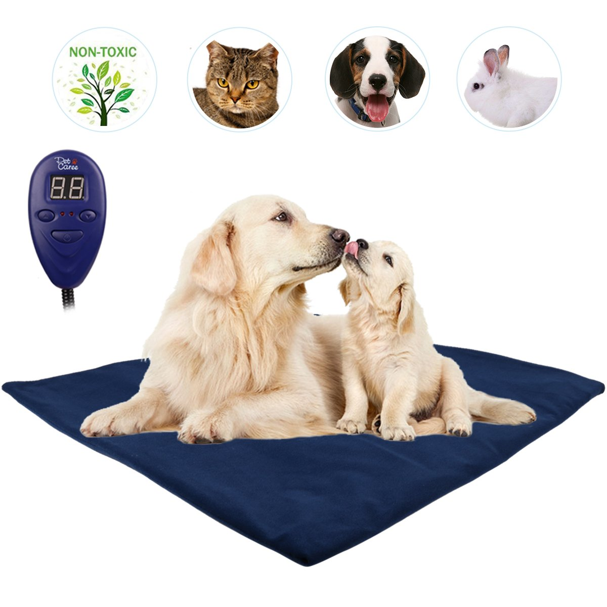IB SOUND Heating Pads for Pets,bluee(ZM9B)