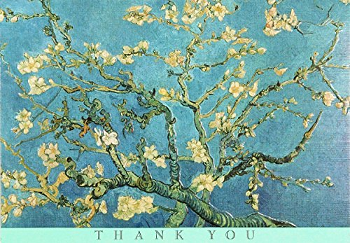 Van Gogh Note (Almond Blossoms Thank You Notes (Stationery, Note Cards))