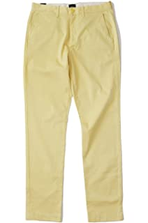 New J Crew Men/'s 36//32 Pine Green 770 Straight Fit Cotton Stretch Chino Pants