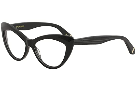 2a56fa67f531 Zac Posen VERUSHKA Eyeglasses 52 Black at Amazon Women s Clothing store