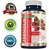 Cheap 100% Pure Forskolin Extract 60 Capsules (Best Coleus Forskohlii on the Market) – Highest Grade Weight Loss Supplement for Women & Men – Standardized At 20% – Guaranteed By California Products