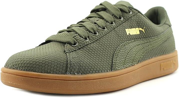 Amazon.com: Puma Smash V2 Ripstop zapatillas puntera redonda ...