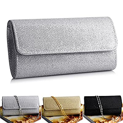 Padoora Wedding Evening Party Small Clutch Bag Bridal Purse Handbag Cross Body Bag