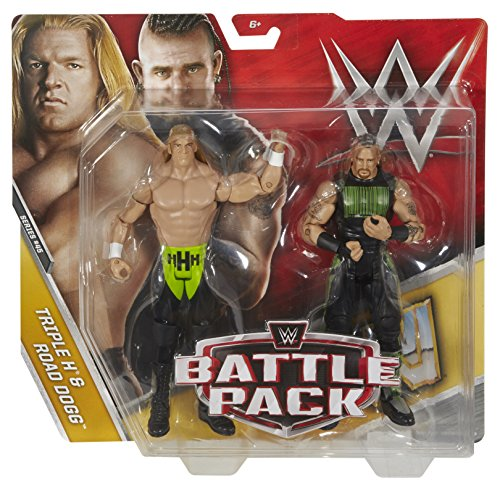 Triple Tag - WWE Triple H & Road Dogg Action Series 45 Figure, 2 Pack