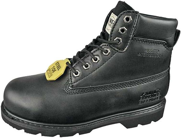 Goodyear WELT Steel Toe 6 Inch Leather