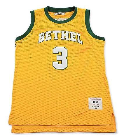 Amazon.com   HeadGear Iverson High School Basketball Jersey   Sports ... 24156e557aac