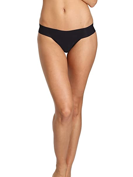 48e53ce4ebdd Hanky Panky Bare Eve Natural Rise Thong at Amazon Women's Clothing ...