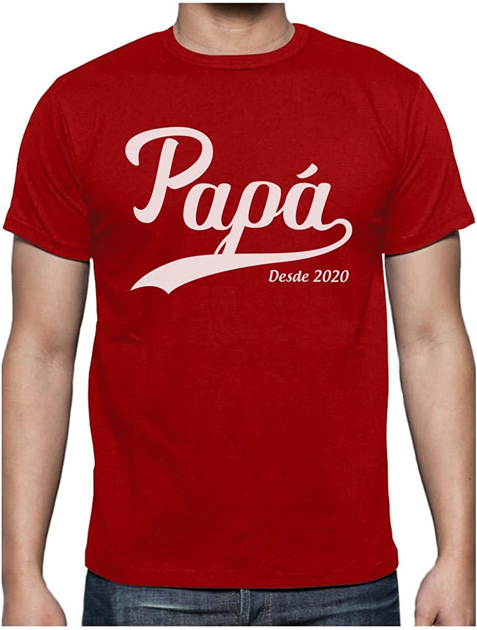Green Turtle Camiseta para Hombre - Regalos Originales para Padres Primerizos - Papá Desde 2020