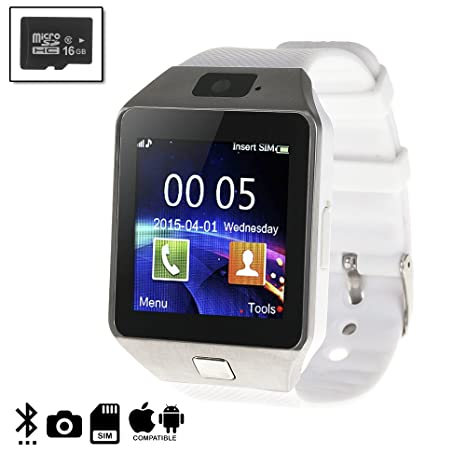DAM DMIOSN236SD16 - Smartwatch Ártemis BT Compatible con iOS ...