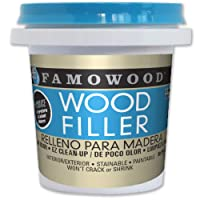 Deals on FamoWood 40042126 Latex Wood Filler 1/4 Pint