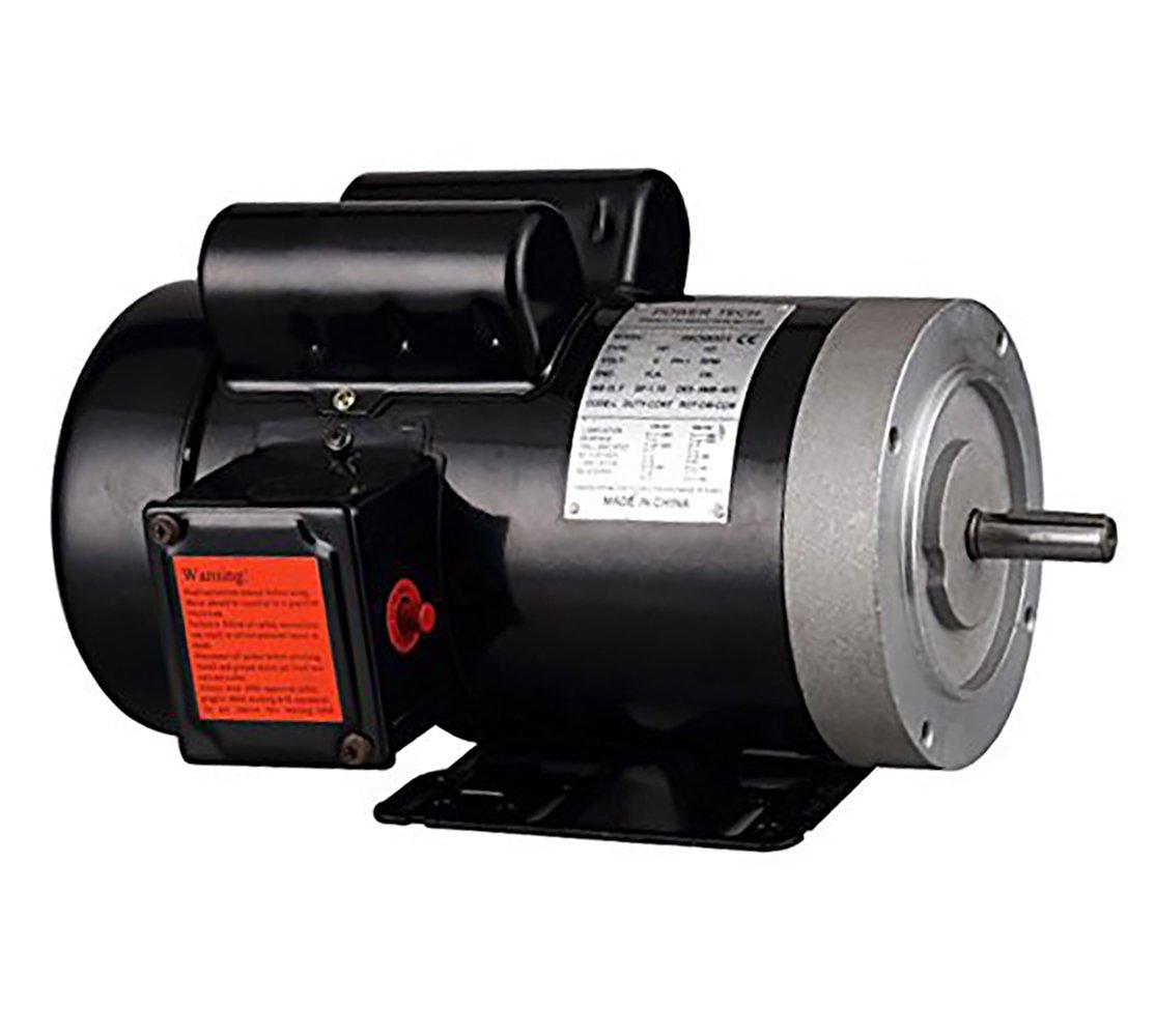 2 HP Electric Motor 56C Frame 5/8'' Shaft Single Phase 115/230 Volt 3450 RPM TEFC