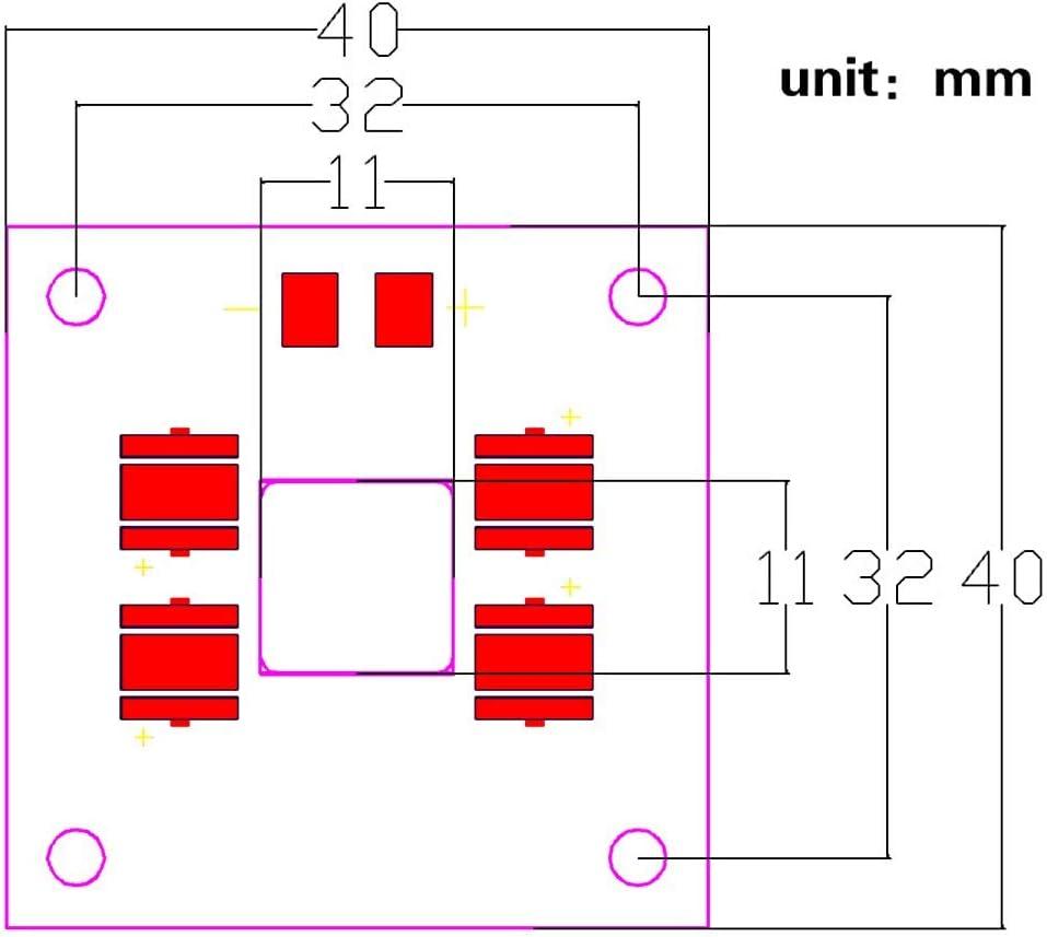 40W Light Plate Lamp Purple Source Led UV for DLP #2 KONGZIR 30W LED Driver Board