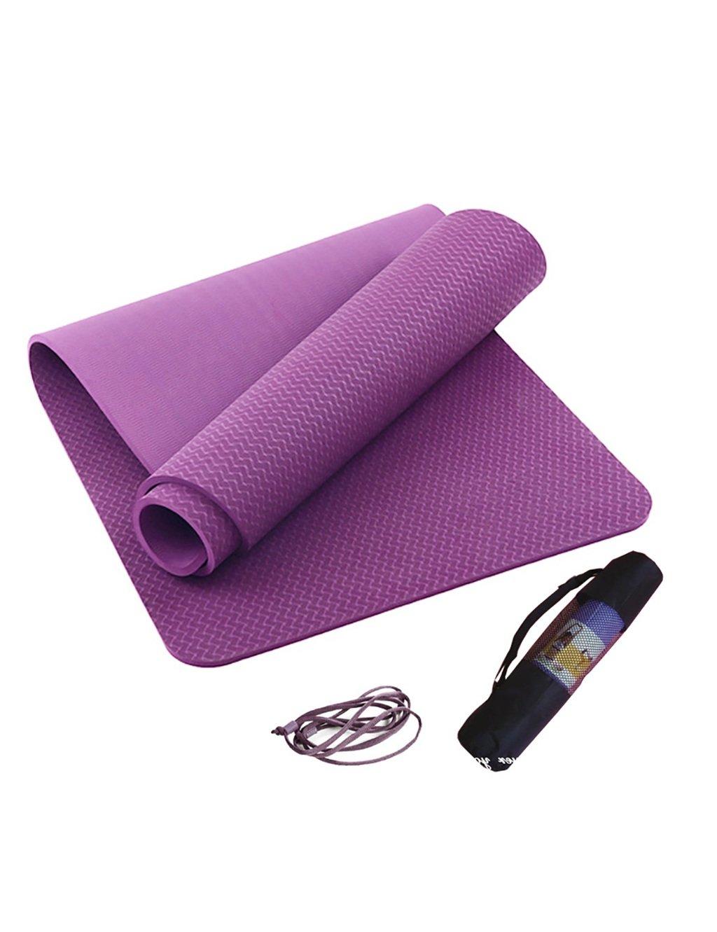 YJD Fitness Gewichtsverlust Dämpfung Yogamatte Baby Kissen Sport Gym Pad 10mm (3 Farben Optional)
