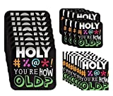 Holy Bleep You're How Old? Birthday Party Bundle for 16 Guests