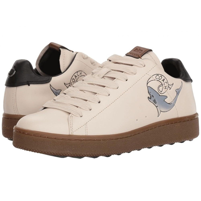(コーチ) COACH メンズ シューズ靴 スニーカー C101 with Tattoo Tooling [並行輸入品] B07F6JYMJM