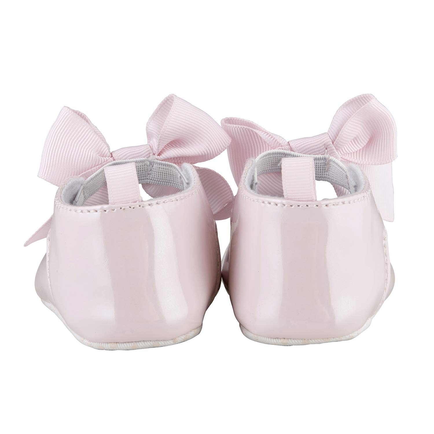 Gold Metallic Fits 6-12 Months Stephan Baby Twinkle Toes Party Shoe-Style Foot Finders