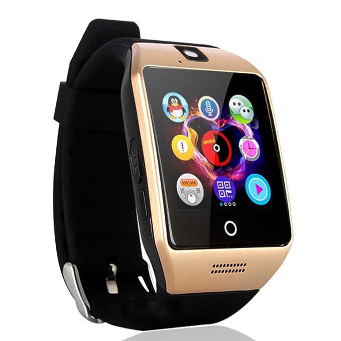 AGPtEK Q18s Bluetooth 3.0 Reloj Inteligente con con la cámara 01:54