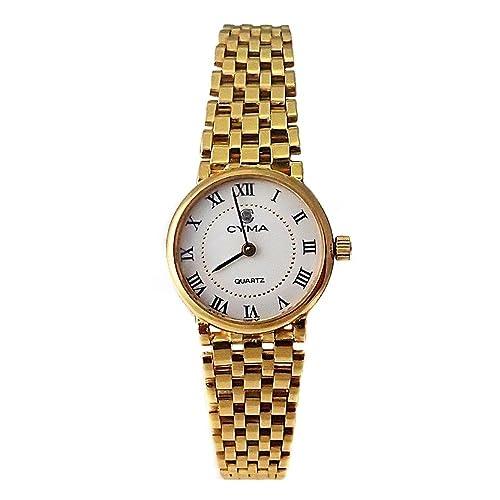 l'atteggiamento migliore d5ed3 efc95 18k orologio d'oro Cyma donna Panter lucentezza liscia ...