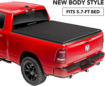 New Body Style Made in The USA w//Out RamBox Gator ETX Soft Tri-Fold Truck Bed Tonneau Cover 59422 fits Dodge Ram 2019 6 ft 4 in Bed