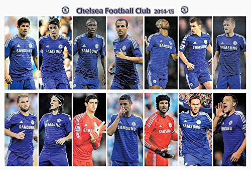 Chelsea F.C. 2014 - 2015 Football Soccer Sport Wall Decoration Poster 5003