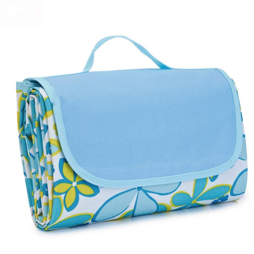 SYT Blankets Faltbare Outdoor-Camping-Matte Widen Picknick-Matte Plaid Beach Decke Baby Multiplayer Tourist Matte, 145x180CM, Blau B07GBTFGWV   Verkauf Online-Shop