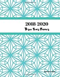 2018 - 2020 Geometric Design Three Year Planner
