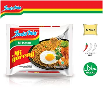 Amazon.com   Indomie Mi Goreng Instant Stir Fry Noodles 888b8d7fe42