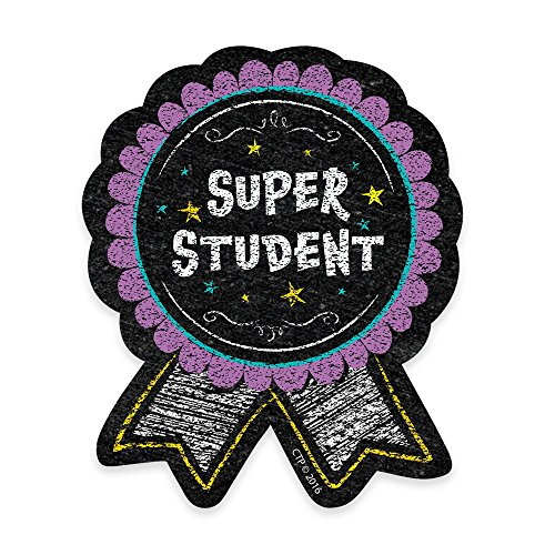 Creative Teaching Press Chalk It Up! Super Student Badge (1067) -